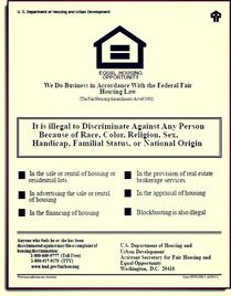 HUD Fair Housing Poster